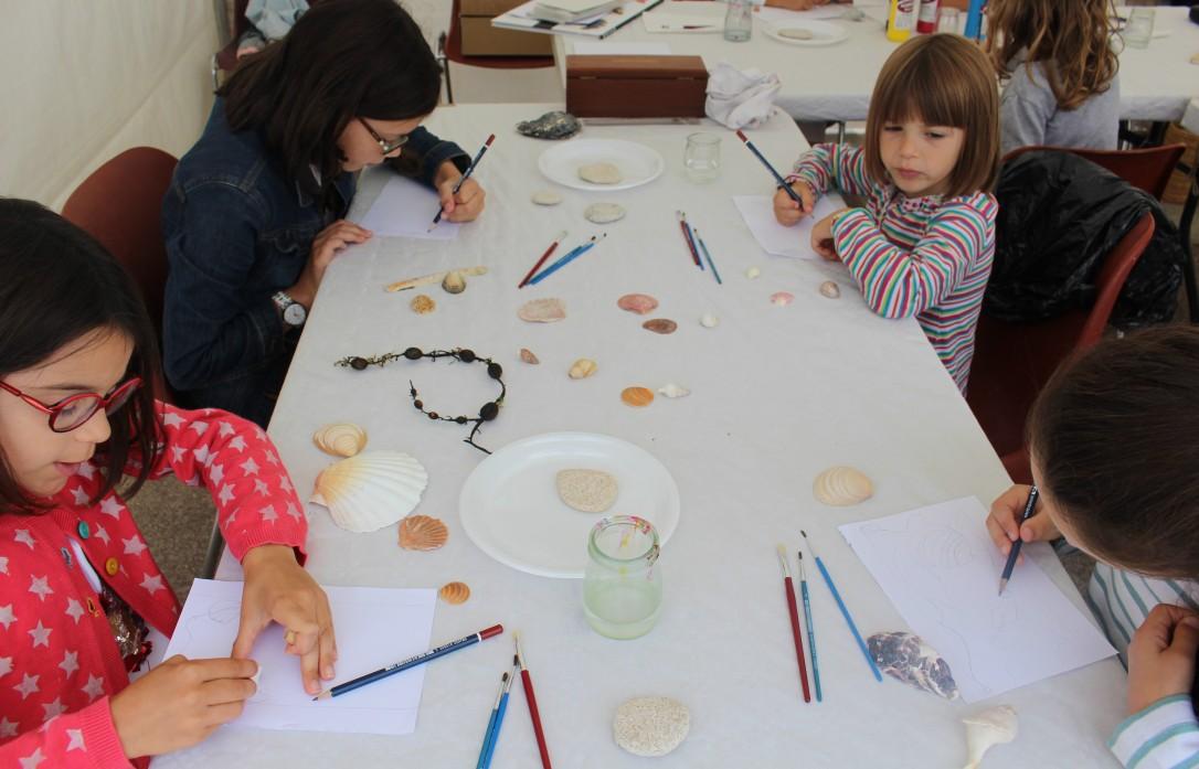Coquillages et Art nouveau - mercredi 22 août - atelier jeune public - musartdit