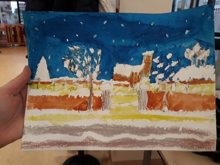 Mon paysage enneigé - atelier Musartdit - 18 février 2019 - médiathèque (25)