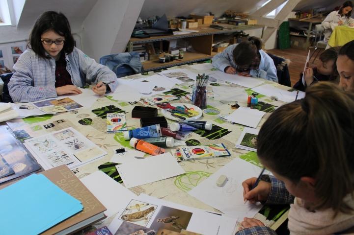stage confection d'un livret animalier - Musartdit - atelier Jeune Public (14)