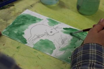 stage confection d'un livret animalier - Musartdit - atelier Jeune Public (40)