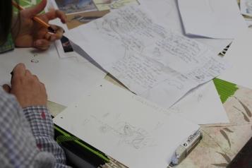 stage confection d'un livret animalier - Musartdit - atelier Jeune Public (43)