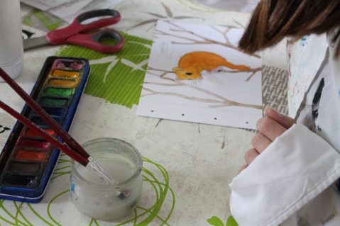 stage confection d'un livret animalier - Musartdit - atelier Jeune Public (53)