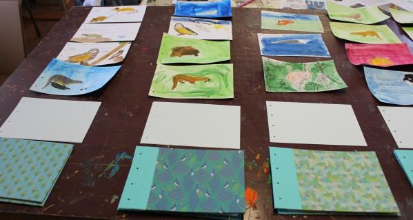 stage confection d'un livret animalier - Musartdit - atelier Jeune Public (72)