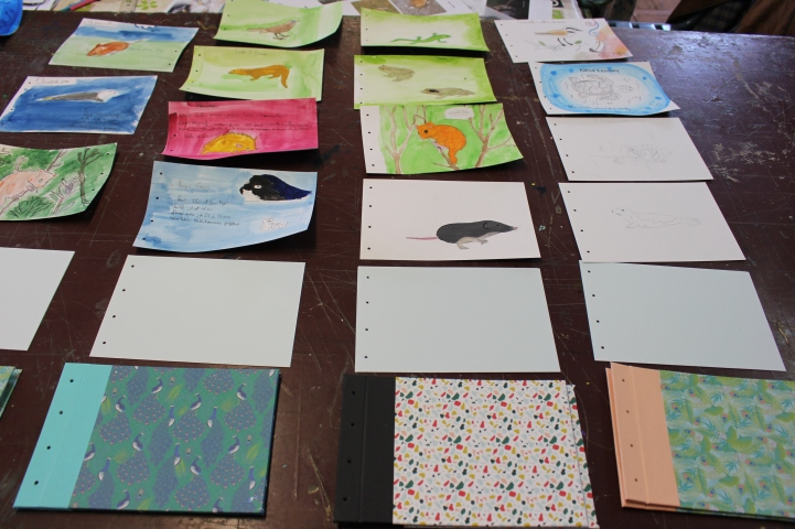 stage confection d'un livret animalier - Musartdit - atelier Jeune Public (75)