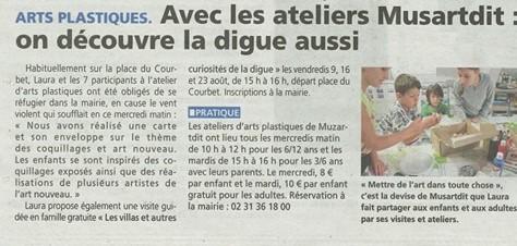 article Liberté Le bonhomme libre août 2019 - musartdit