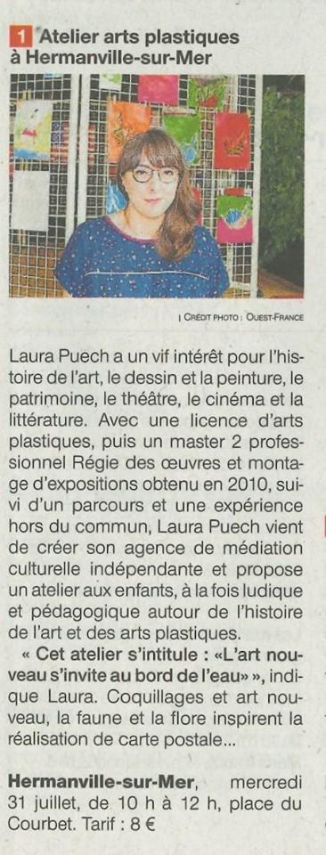 article ouest france 31 juillet 2019