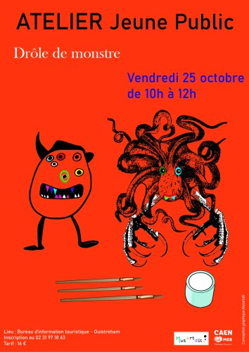 Flyer Drôle de monstre - Musartdit