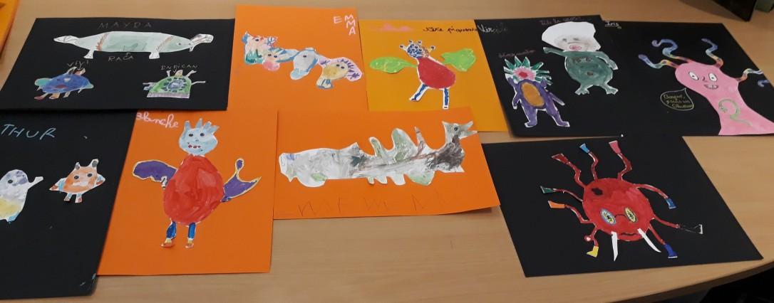 Drôle de monstre - atelier jeune public ouistreham caen la mer - musartdit (13)