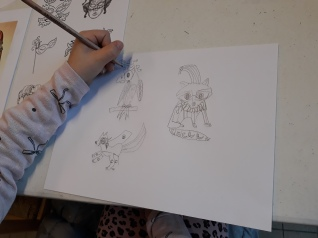 Les animaux se déguisent - atelier enfant - Musartdit (11)