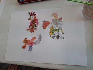 Les animaux se déguisent - atelier enfant - Musartdit (15)