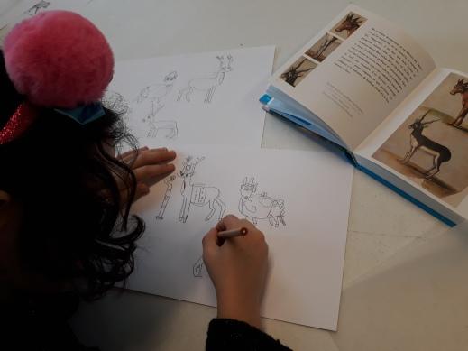 Les animaux se déguisent - atelier enfant - Musartdit (6)