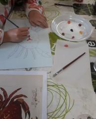 Portrait de crustacés -atelier jeune public - ouistreham - Côte de Nacre - Musartdit (1)