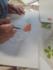 Portrait de crustacés -atelier jeune public - ouistreham - Côte de Nacre - Musartdit (5)