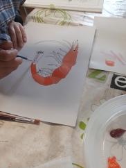 Portrait de crustacés -atelier jeune public - ouistreham - Côte de Nacre - Musartdit (6)