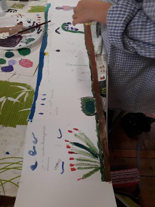 Stage Confection d'un leporello sur le thème de la flore de la côte de nacre - atelier jeune-public - Musartdit (16)