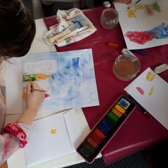 Une pluie de confettis - atelier parent-enfant - Caen -Musartdit (1)