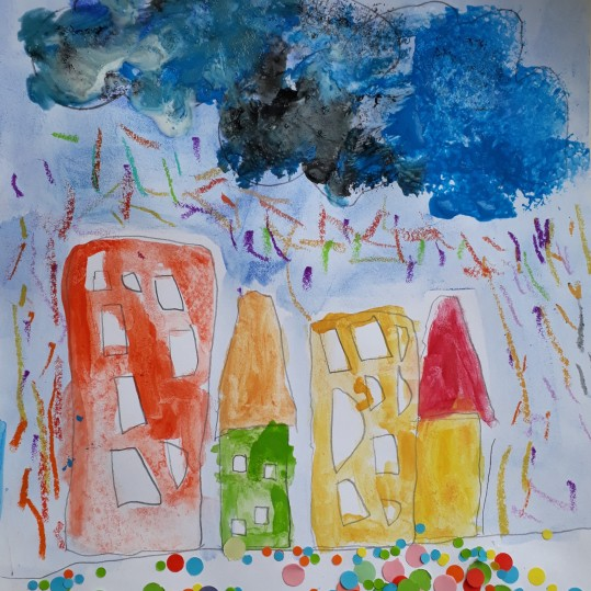 Une pluie de confettis - atelier parent-enfant - Caen -Musartdit (6)