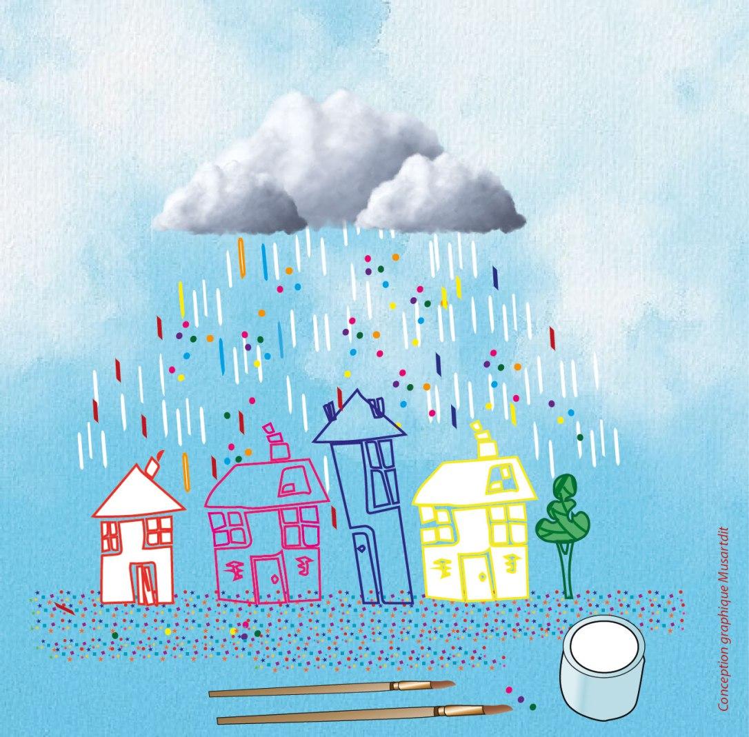 une pluie de confettis - Musartdit